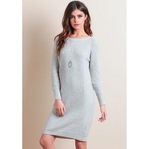 Anthropologie Dresses & Skirts - ✨Sale✨ | HP | Heather Gray Sweater Dress
