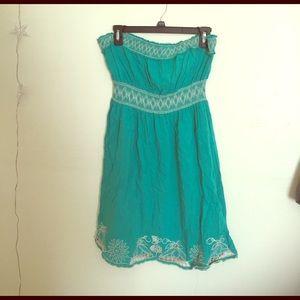 American Rag Strapless Dress