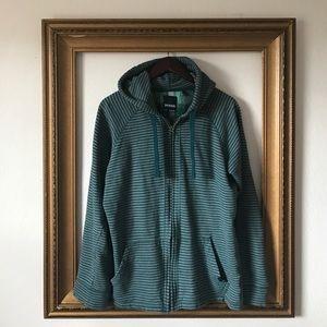 Prana Other - Prana teal/gray zip up hoodie jacket sweatshirt M