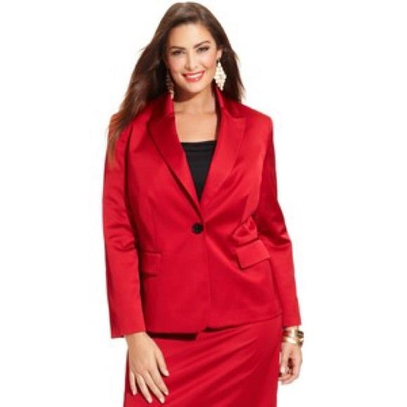 Nipon Boutique Jackets & Blazers - Nipon Boutique Satin Blazer