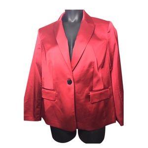Nipon Boutique Jackets & Coats - Nipon Boutique Satin Blazer