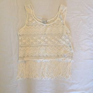 Forever 21 Tops - Fringe Top