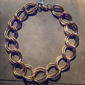 Banana Republic Gold Link Necklace
