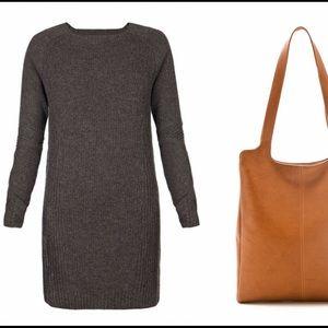All Saints Dresses & Skirts - All Saints Wool Long Sleeve Sweater Dress Grey 0