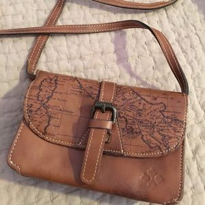 Patricia Nash Handbags - Patricia Nash map cross body bag