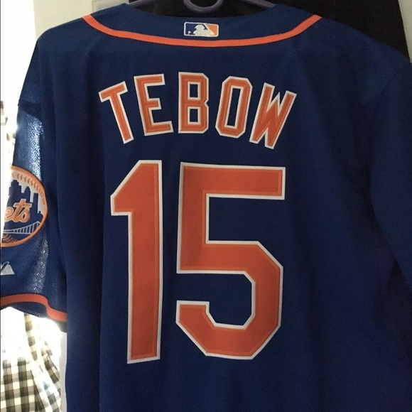 the best attitude d20ce 68fbb Tim tebow mets jersey