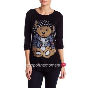 Lauren Moshi Tops - 🐻 Lauren Moshi Brenna Teddy Sweater EUC