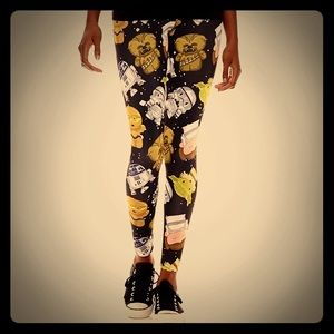Mighty Fine Pants - Mighty Fine Star Wars Leggings Sz M