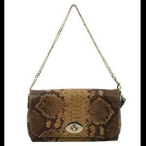 Coach Handbags - Coach Snake Mini Ruby Crossbody - Natural