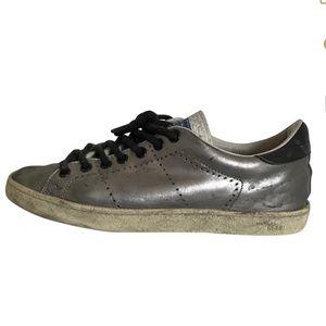 Golden Goose Shoes - Silver Golden Goose size  36