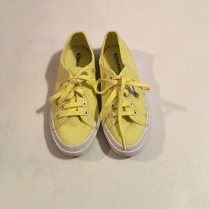 Superga Shoes - Yellow Superga. Worn once