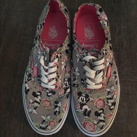 Vans Shoes | Disney Minnie Mouse Vans