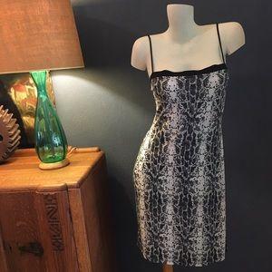 Vintage Eye Candy Snakeskin Dress