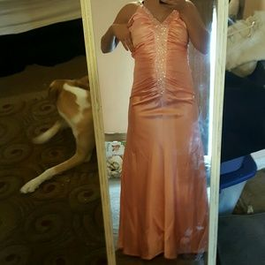 Amazing Peach dress Must Go!