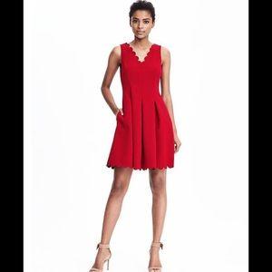 Banana Republic Dresses & Skirts - 💓HP 🎉Banana republic scallop pocket dress