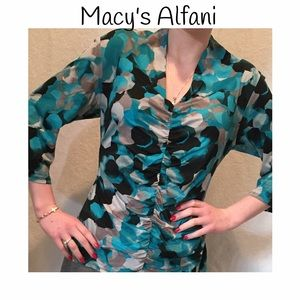Alfani Tops - Macy's Alfani blouse with 3/4 sleeves