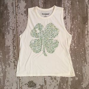 Stranded Tops - ☘️St. Patty's Day Tank, Size Small☘️
