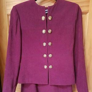 Amanda Smith Dresses & Skirts - Amanda Smith 4p wine dress outfit
