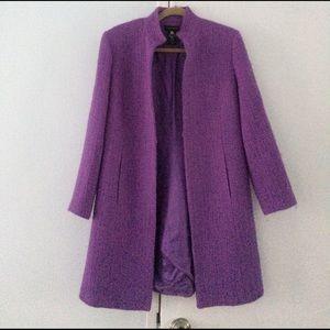 Valerie Stevens Jackets & Blazers - Valerie Stevens wool blend spring Dress coat