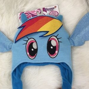 My little pony flipeez hat new with tag!