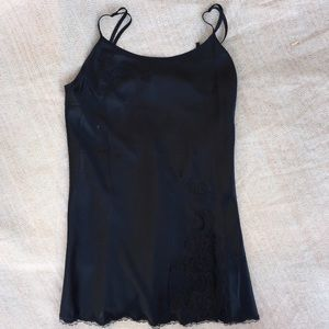 Victoria's Secret Other - Victoria's Secret Sexy Black Lace Split Dress