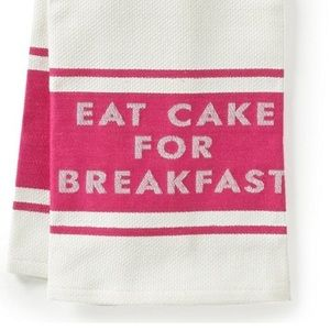 kate spade Accessories - 🍰NWT KATE SPADE EAT CAKE FOR BREAKFAST 2 TOWELS