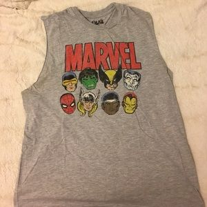21men Other - 21Men Marvel Muscle Tee Show off your Muscles stud