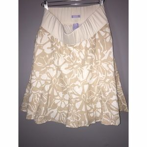GAP Purple Label Maternity Skirt SZ 2