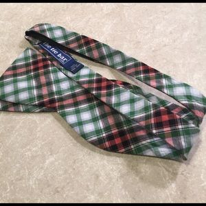 The Tie Bar Other - The tie bar green plaid bowtie adjustable