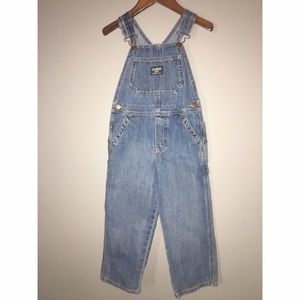 Oshkosh B'gosh Denim Overalls Sz 5T