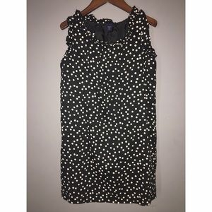 GAP Kids Black polka dot Sz Small dress