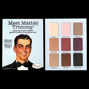 BNWT The Balm Meet Matte-trimony Palette