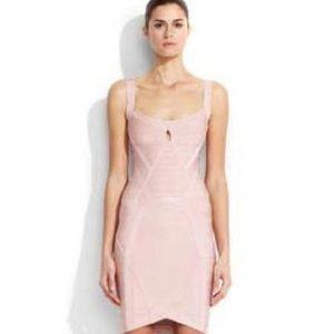 Herve Leger Dresses & Skirts - Pink bandage Herve Leger dress!