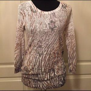 NIC + ZOE Tops - Nic + Zoe Lightweight Spring-Summer Sweater