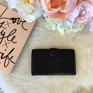 Chanel wallet - black