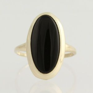 Jewelry - Onyx 10K Gold Ring