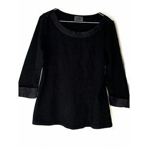 46 Off Chanel Tops Chanel Logo Cotton Sweatshirt In