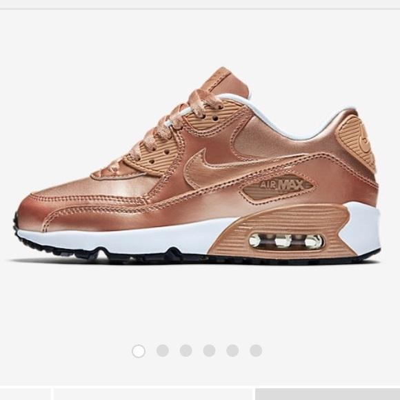 le scarpe nike air max lea in donne poshmark rose d'oro