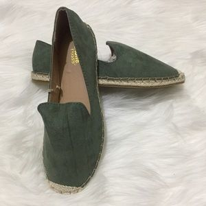Charlotte Russe Shoes - New in a Bag Pine Green Espadrilles Flats