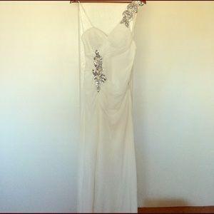 Faviana Dresses & Skirts - Faviana Couture white prom dress