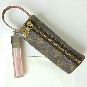 LOUIS VUITTON ETUIS TROIS BOARD GOLF BALL CASE