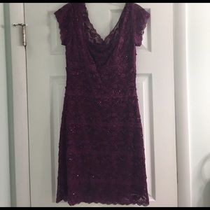 Onyx Dresses & Skirts - Burgundy Semi formal Dress