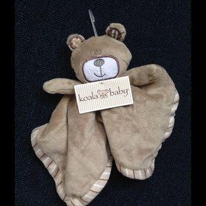 Koala Kids Other - Little brown bear Baby blanket NWT