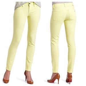 DL1961 Denim - DL1961 Jeans Angel Skinny Yellow Meringue 27 Cig