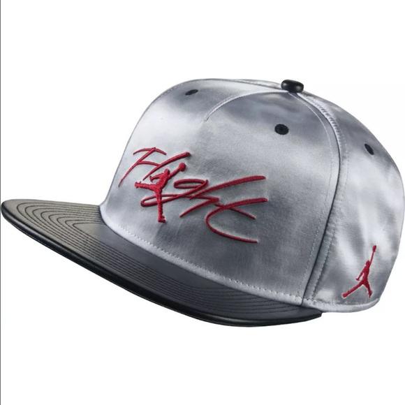 Nike Jordan Flight Cloud Print SnapBack Hat d1ba6667974