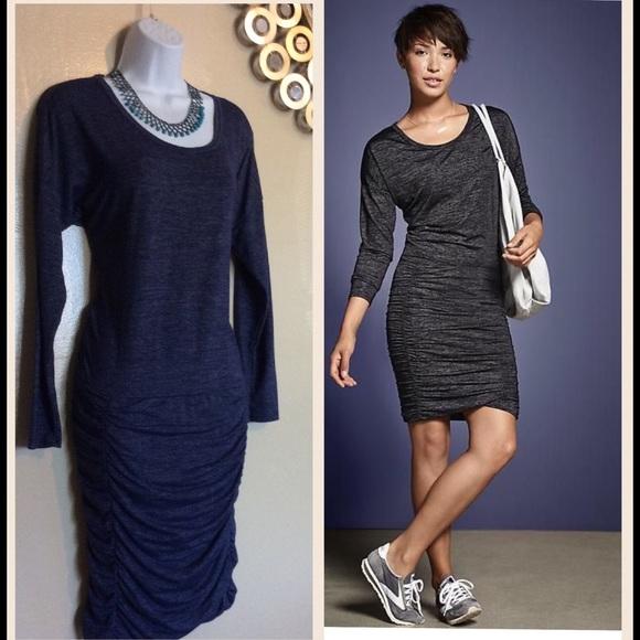 e11429a08635 Athleta Dresses   Skirts - Size small blue athleta long sleeve tulip dress