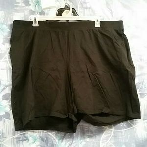 Just My Size Pants - Just My Size Black polyester shorts