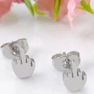 Fine Jewelry Sets Fine Jewelry Frugal Sterling Silver Elephant Stud Post Earrings Small