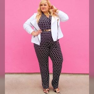 Lane Bryant Pants - Printed Jumpsuit