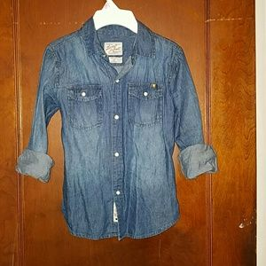 Lucky Brand Shirts & Tops - Lucky Brand denim button down shirt